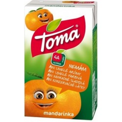 DŽÚS MADARINKA 0,25l TOMA