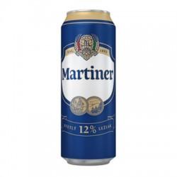 PIVO MARTINER 12% PLECH. 0,5L