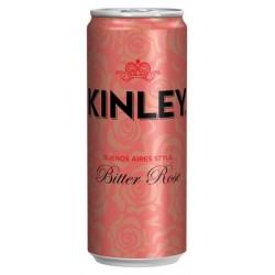 KINLEY BITTER ROSE 6x4 PLECH 330 ML