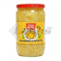 KAPUSTA KVASENÁ 640g / PP 420g FRESH BASIC