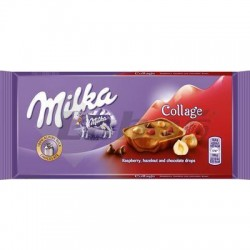 ČOK. MILKA COLLAGE FRUIT 93g