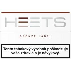 NÁPLŇ TABAKOVÁ HEETS BRONZE LABEL 20ks C