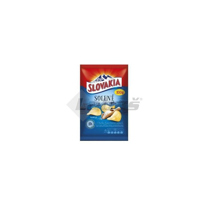 LUPIENKY SLOVAKIA CHIPS SOLENÉ 100g
