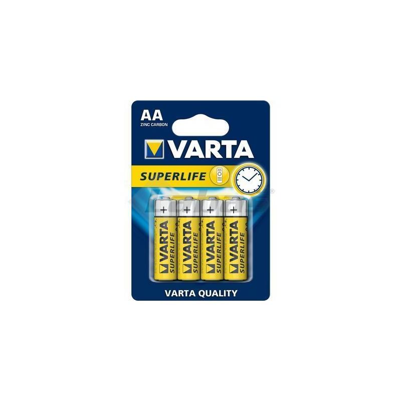 BAT. VARTA SUPERLIFE 2006 R6 1,5V AA 4ks BLISTER -
