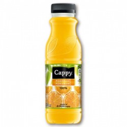 CAPPY POMARANČ 100% 330ML PET