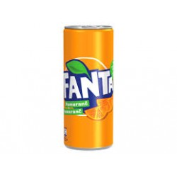 FANTA ORANGE 330ML PLECH.