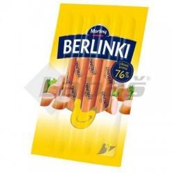 PÁRKY BERLINKI KURACIE 250g VB MORLINY 84% PODIEL