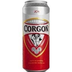 Pivo corgoň 10% plech. 0,5l