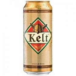 Pivo KELT 10% plech. 0,5l