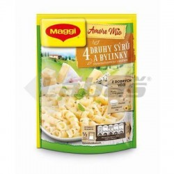 CEST. 4 DRUHY SYROV & BYLINKY AMORE MIO 146g MAGGI
