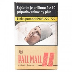 PALL MALL RED AUTHENTIC TOBACCO KS Box 20 /3,40€/