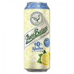 Pivo ZB 0,0% citrón 0,5l