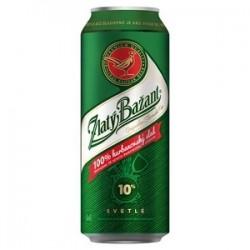 Pivo ZB 10% plech. 0,5l