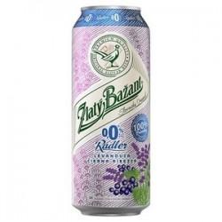 Pivo ZB radler levand.+čierna ríb. 0,5l