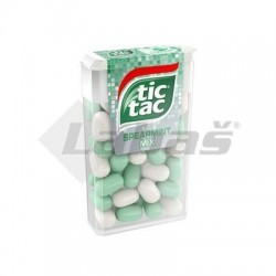 CUKR. TIC-TAC SPEARMINT MIX 18g