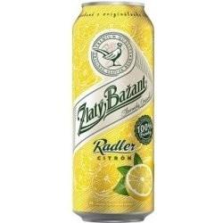ZB radler citrón plech. 0,5L