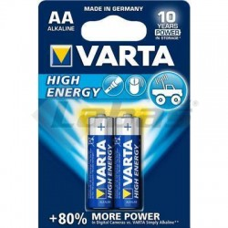 BAT. VARTA HIGH ENERGY MIGNON LR6 1,5V AA 2ks BLIS