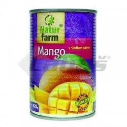 KOMPÓT MANGO 425g / PP 212g NATUR FARM